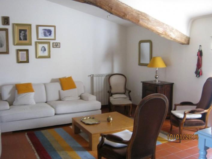 Location de vacances - Gîte à Villecroze - SÉJOUR /SALON
