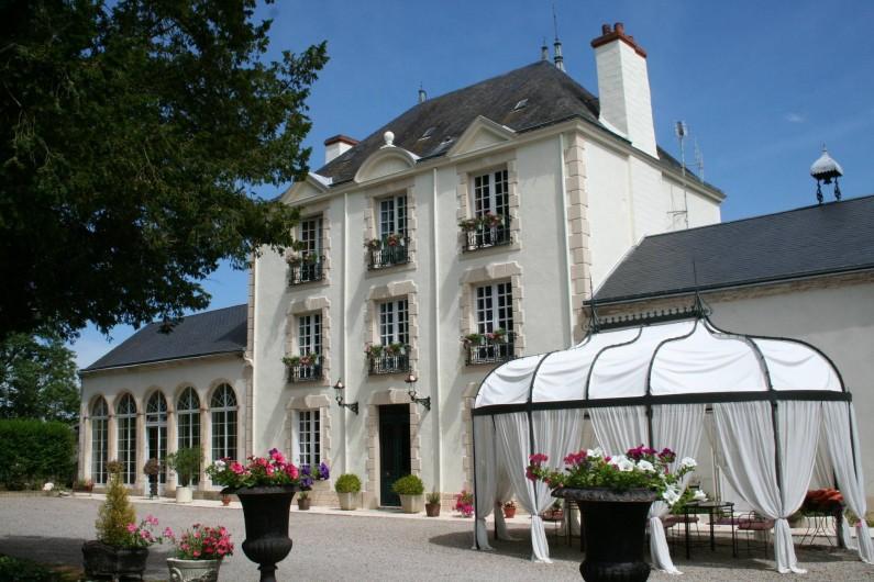 Location de vacances - Chambre d'hôtes à Juillé - Le Manoir Saint - Pierre