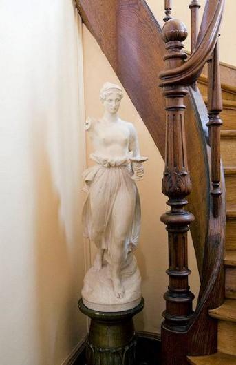 Location de vacances - Chambre d'hôtes à Juillé - escalier