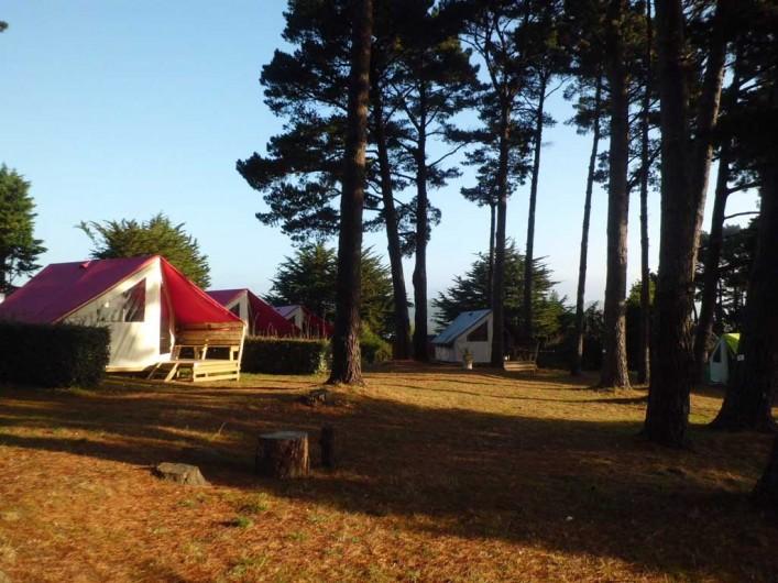 Location de vacances - Camping à Le Palais