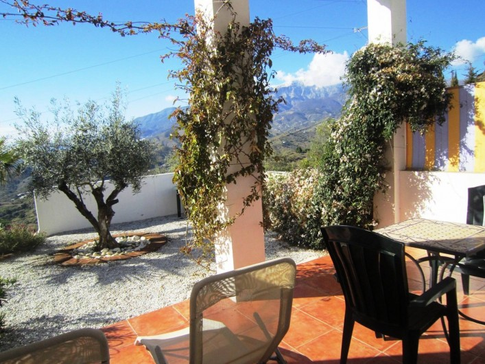Location de vacances - Gîte à Vélez-Málaga - TERRASSE PRIVATIVE