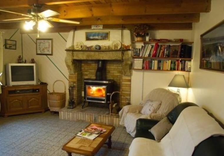Location de vacances - Maison - Villa à Plouider - espace salon detente