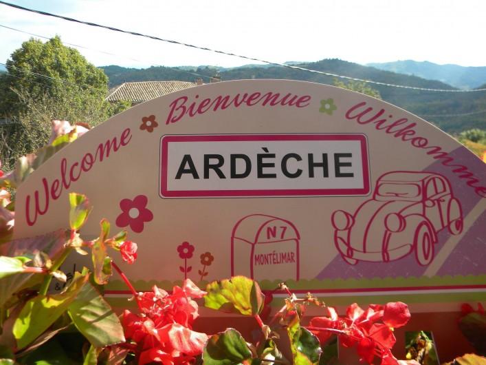 Location de vacances - Gîte à Vals-les-Bains - Bienvenue en Ardèche chez Alice et Clément/Maison de caractère/randonnées