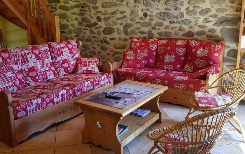 Location de vacances - Gîte à Formiguères - Salon
