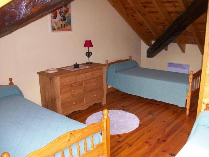 Location de vacances - Gîte à Formiguères - 3 ème Chambre