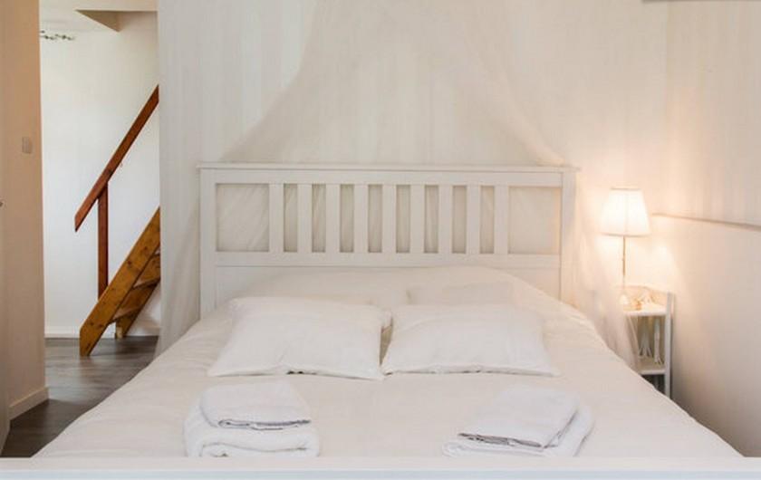 Location de vacances - Gîte à Saint-Michel-sur-Loire - Lit double 160X200