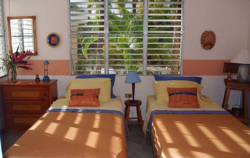 Location de vacances - Villa à Cabrera - Chambre no 2 avec 2 lits simples pouvant être convertis en grand-lit