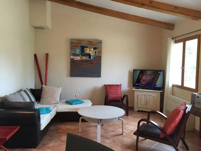 Location de vacances - Villa à Calvi - SALON TV