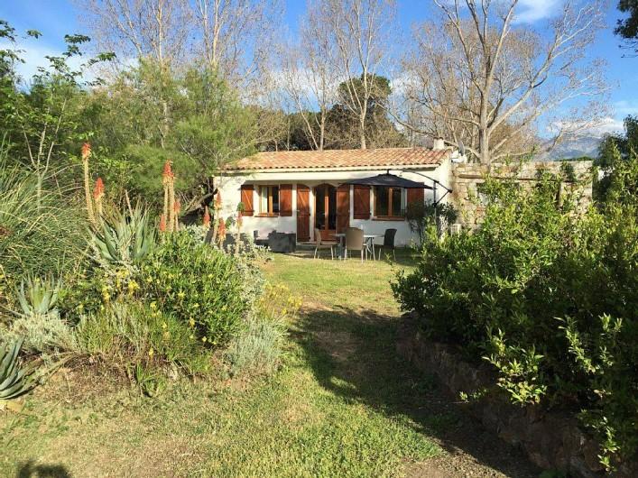 Location de vacances - Villa à Calvi - MAISON DU SUN