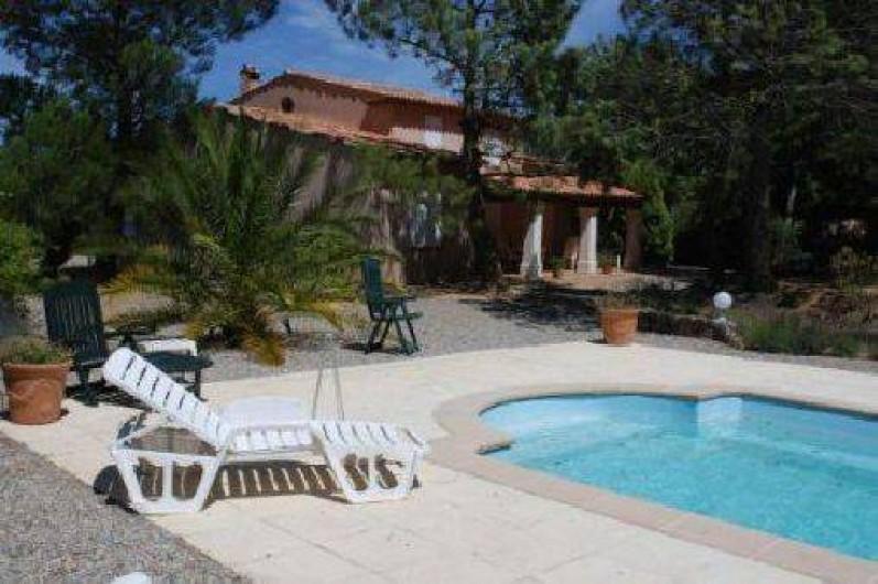 Location de vacances - Villa à Le Plan-de-la-Tour - piscine