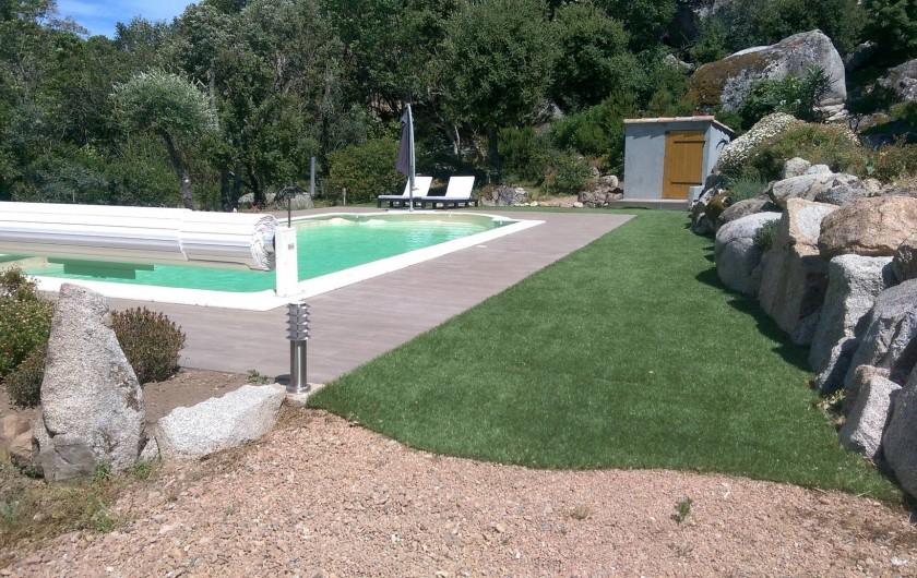 Location de vacances - Studio à Porto-Vecchio - Piscine
