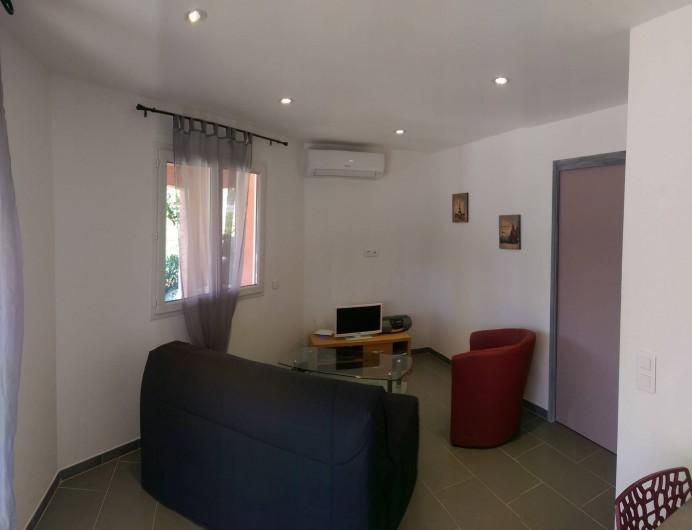 Location de vacances - Studio à Porto-Vecchio - Coté salon