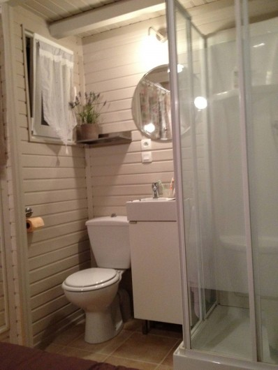 Location de vacances - Maison - Villa à Gassin - Salle de douche 2ème chambre