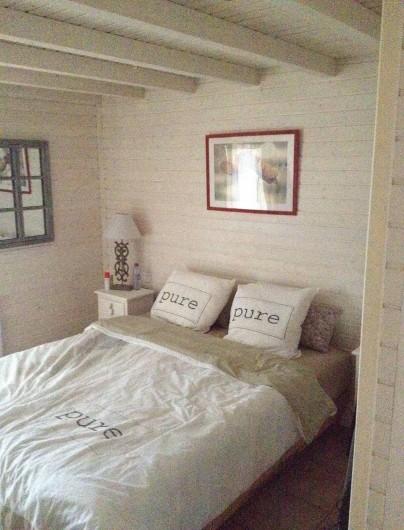 Location de vacances - Maison - Villa à Gassin - 1ère chambre avec salle de douche et WC