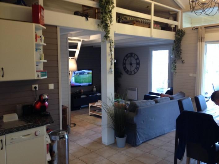 Location de vacances - Maison - Villa à Gassin - Coin Salon