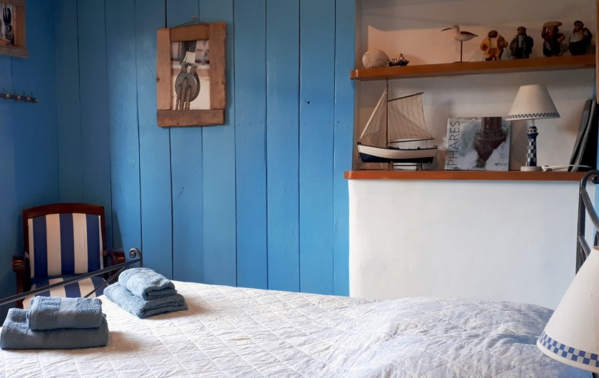 Location de vacances - Villa à Seillans - La chambre bretonne à l'étage