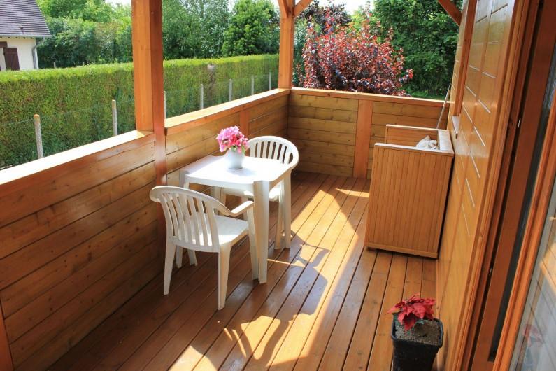 Location de vacances - Chambre d'hôtes à Poses - Terrasse de 12m2