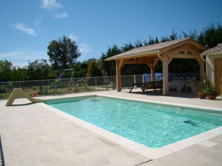 Location de vacances - Mas à Aureille - piscine