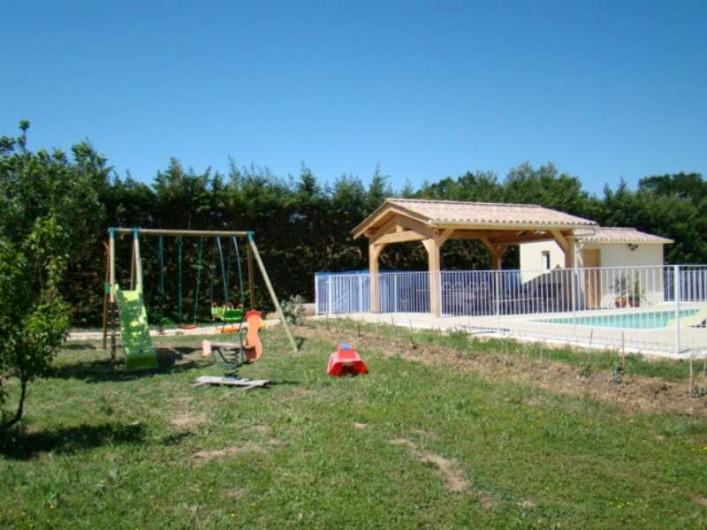 Location de vacances - Mas à Aureille - jeux d'enfants