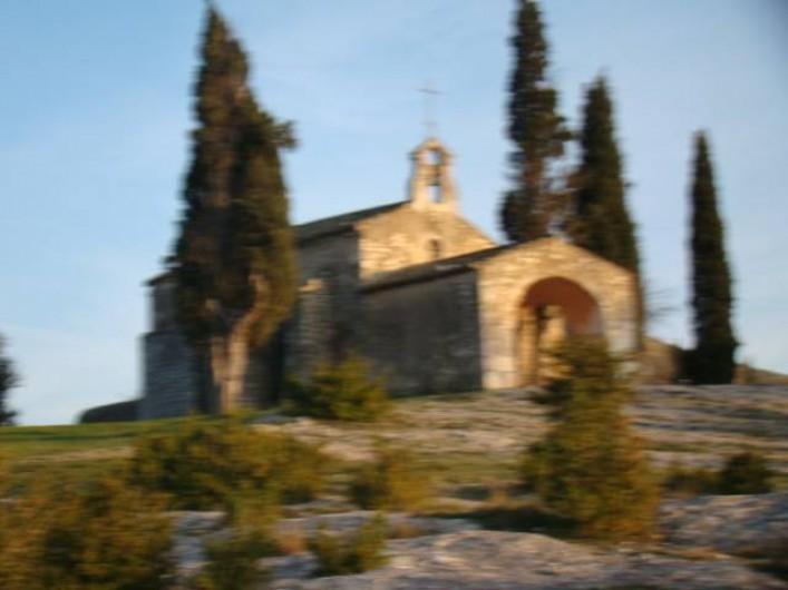 Location de vacances - Mas à Aureille - chapelle d'Eygalières