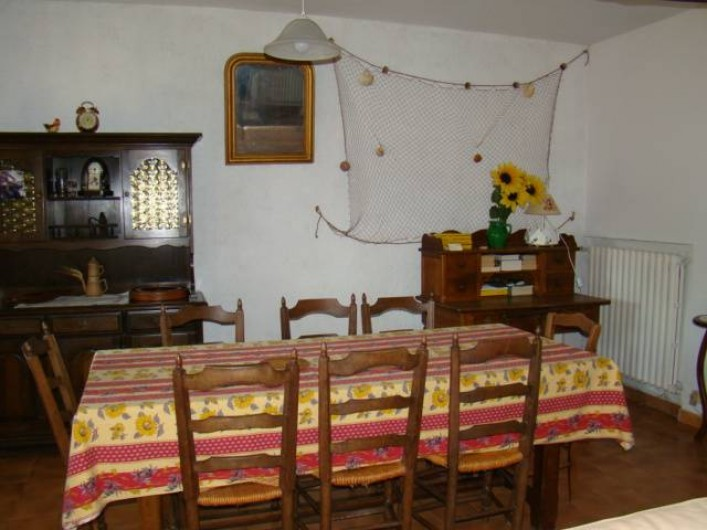 Location de vacances - Mas à Aureille - salle a manger