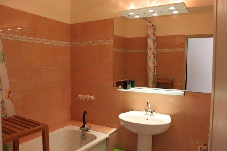 Location de vacances - Gîte à Courcelles-lès-Montbard - Salle de bain 1