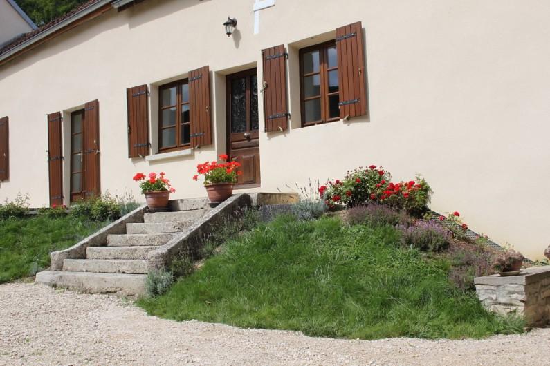 Location de vacances - Gîte à Courcelles-lès-Montbard - Entrée