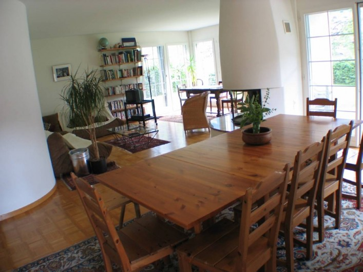 Location de vacances - Villa à Lungern - Salle à manger