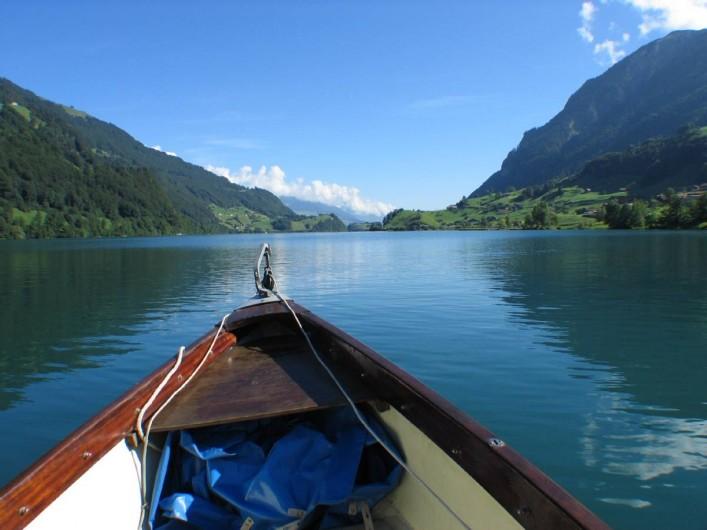 Location de vacances - Villa à Lungern - Bateau sur le Lac