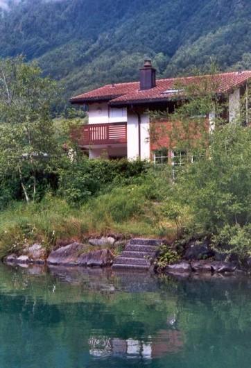 Location de vacances - Villa à Lungern - Vue du lac