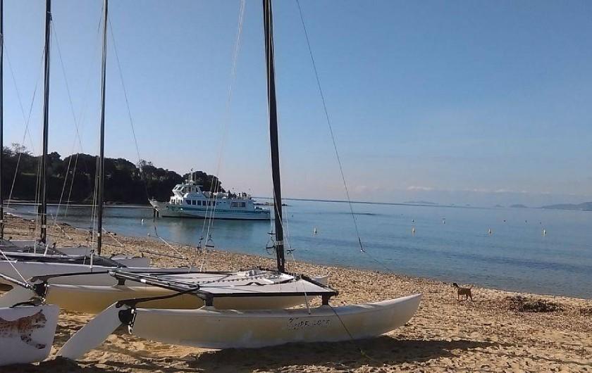 Location de vacances - Appartement à Porticcio - plage de Porticcio