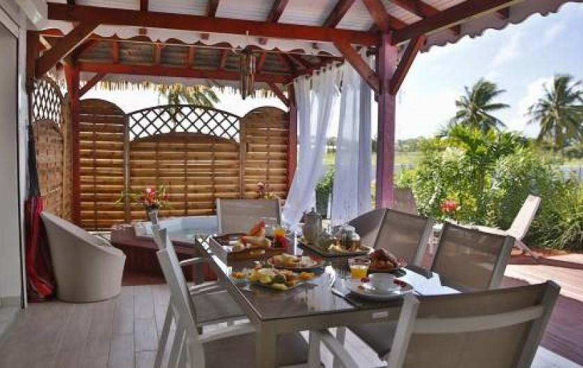 Location de vacances - Gîte à Saint-François - Bungalow Orchidée