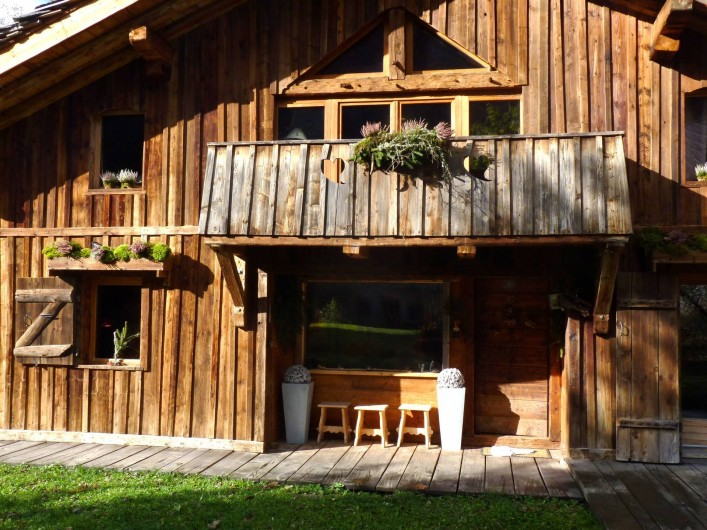 Location de vacances - Chalet à Saint-Gervais-les-Bains - Le chalet au chaud!