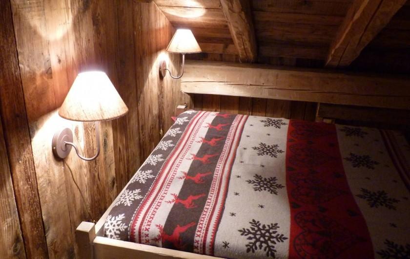 Location de vacances - Chalet à Saint-Gervais-les-Bains - une chambre