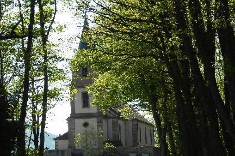 Location de vacances - Chambre d'hôtes à Saint-Pierre-Bois - Eglise du saint Gilles