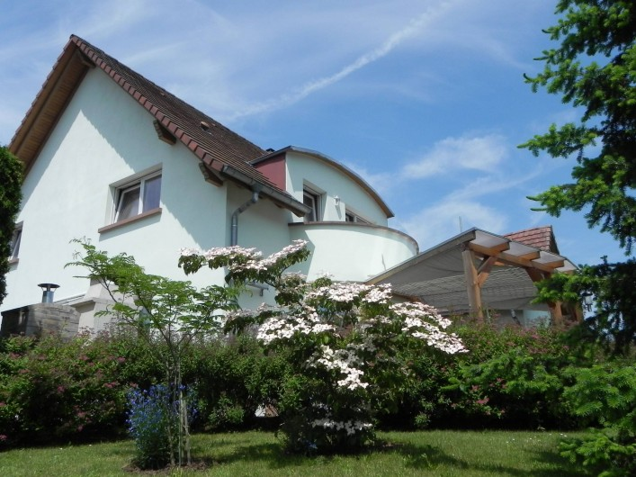 Location de vacances - Chambre d'hôtes à Saint-Pierre-Bois - Jardin
