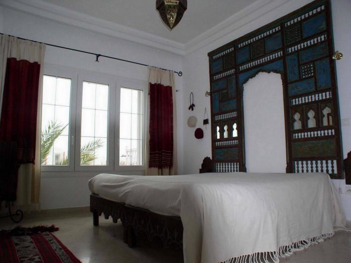 Location de vacances - Appartement à Hammamet - chambre à coucher deux lits simples