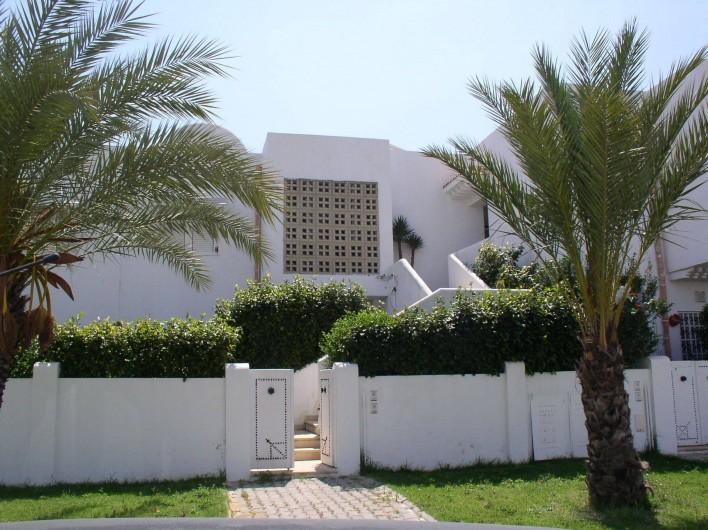 Location de vacances - Appartement à Hammamet - entrée depuis la rue