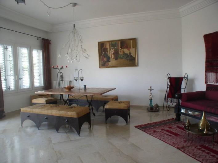 Location de vacances - Appartement à Hammamet - salle à manger