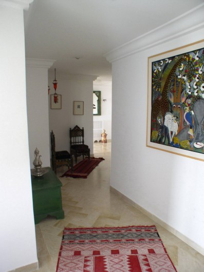 Location de vacances - Appartement à Hammamet - corridor