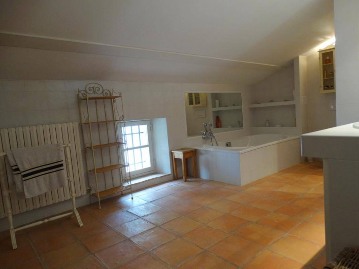 Location de vacances - Gîte à Montferrat - Salle-de-bain et douche