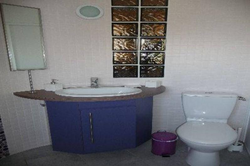 Location de vacances - Gîte à Port-Saint-Père - Salle d'eau originale