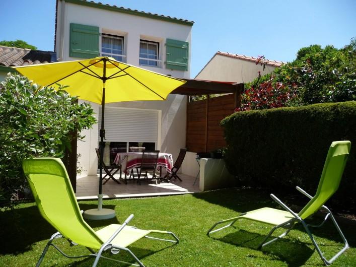 Location de vacances - Gîte à Port-Saint-Père - Espace jardin