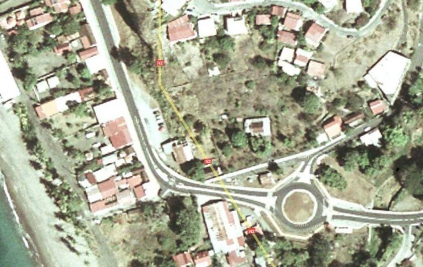 Location de vacances - Bungalow - Mobilhome à Le Carbet - Vue aérienne
