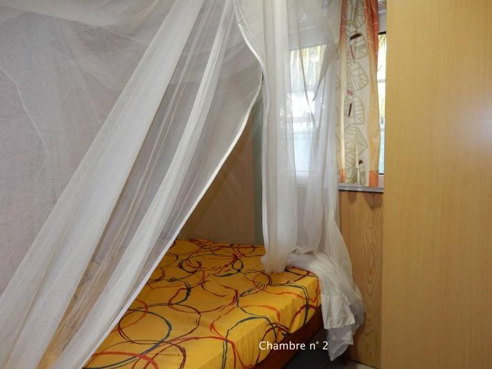 Location de vacances - Bungalow - Mobilhome à Le Carbet - Chambre 2