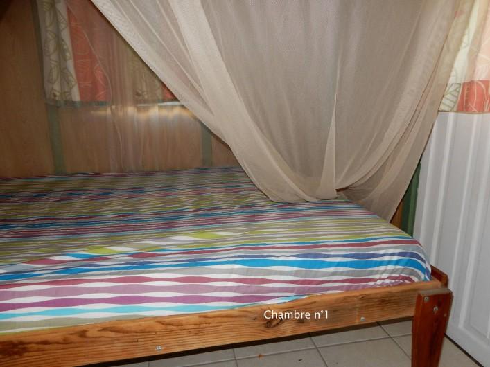 Location de vacances - Bungalow - Mobilhome à Le Carbet - Chambre 1