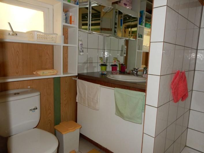 Location de vacances - Bungalow - Mobilhome à Le Carbet - Salle d'eau
