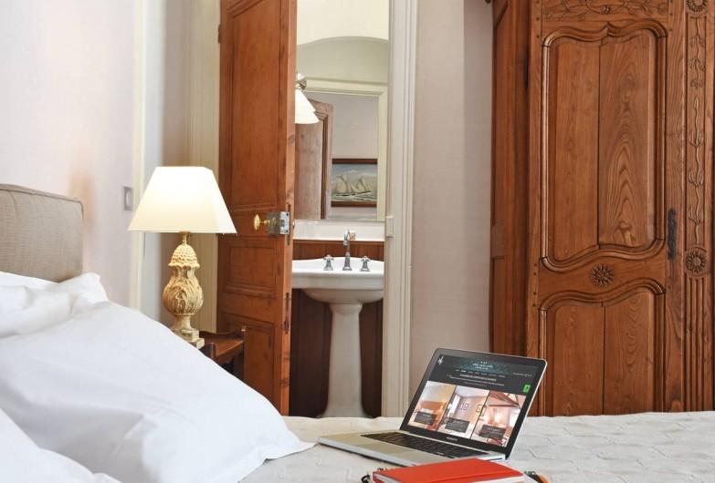 Location de vacances - Hôtel - Auberge à Trouville-sur-Mer - CHAMBRE SUPERIEURE