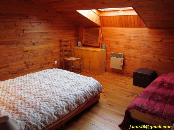 Location de vacances - Gîte à Valprionde - Chambre 3 avec un lit en 140 et un lit en 90