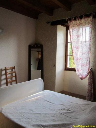 Location de vacances - Gîte à Valprionde - Chambre 4  en RDC avec un lit en 140